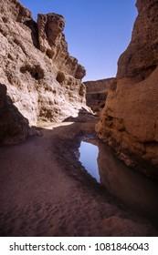 sesriem canyon, namib naukluft park, hardap, namibia, africa