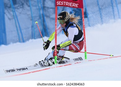 Sestriere, Italy, January 19 2020 gut-behrami lara (sui) during SKY World Cup -  Parallel Giant Slalom Women Ski