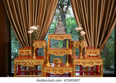set of altar table