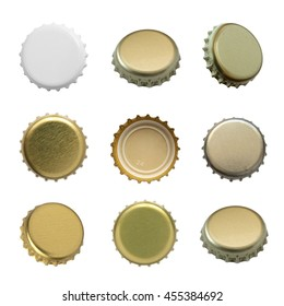 Set of beer caps