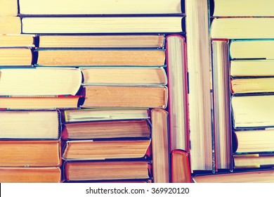 A set of books in the library. Knowledge, Science