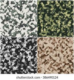 A set of camouflage backgrpund