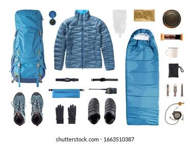 Trekking Clothing Images Stock Photos Vectors Shutterstock