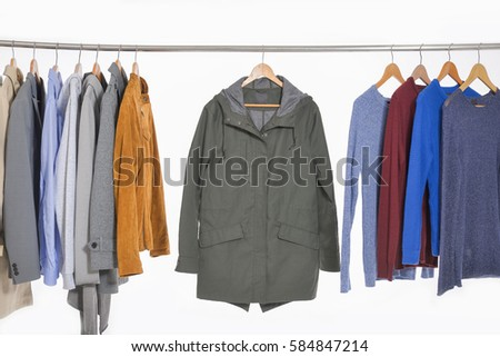 6453c9586fd Set Casual Mens Different Suit Clothes Stock Photo (Edit Now ...