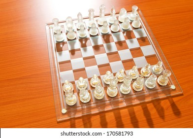 Glass Chess Board Images Stock Photos Vectors Shutterstock