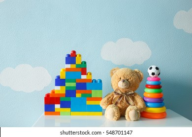 set of children's toys