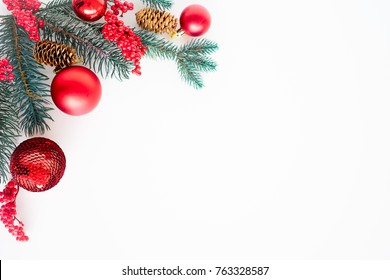 Set of christmas things
