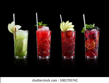 Set of coctails