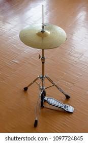 Set of cymbals