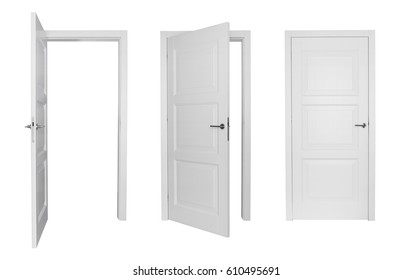 Set of different white door isolated on white background  sc 1 st  Shutterstock & Door Stock Images Royalty-Free Images \u0026 Vectors | Shutterstock