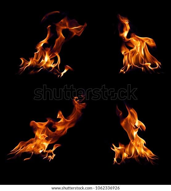 Set Fire in blak