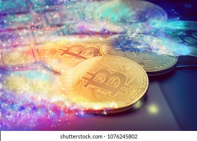 Set of golden cryptocurrencies that are disappearing
