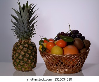 Set of healthy fruits is quarantee of health