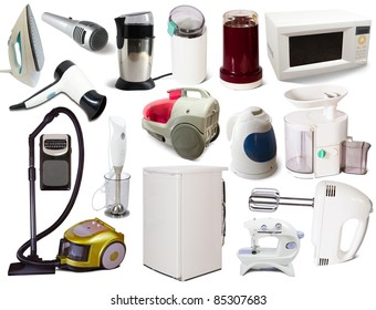 Domestic Electrical Appliances Images Stock Photos