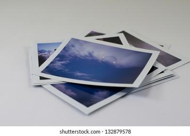 Set of Instant Color Photos