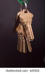 set of keys on ring