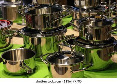 A set of kitchen utensils