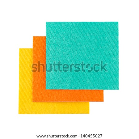 798f2e732 Set Microfiber Cleaning Towel Over White Stock Photo (Edit Now ...
