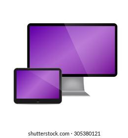 set of Modern Digital devices