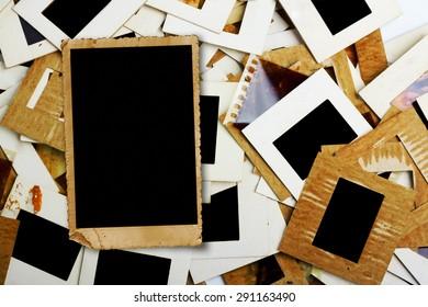 set old slides photos film on stock photo edit now 285248390