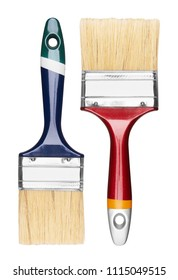 Set of Paint Brush, isolated on a white background