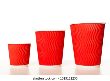 Set of paper cups