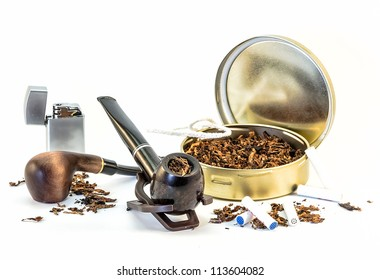 set for pipe Smoking