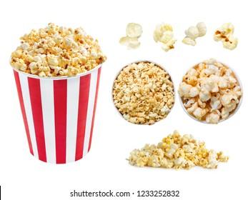 Set Popcorn Normal angle, high angle,single balls