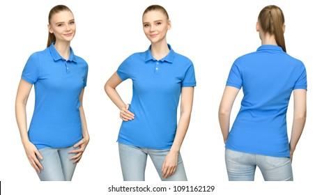 Imágenes Fotos De Stock Y Vectores Sobre Polo Shirt Women