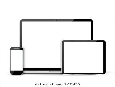 Line Art Laptop : Business man sitting desk office working place laptop back