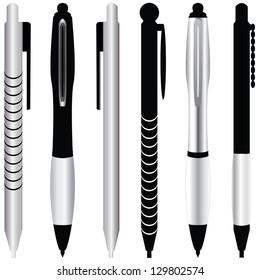 Set of realistic tools