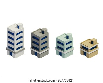 set of the render buildings, Expansion of the series