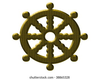 Set sail with this wheel to steer by