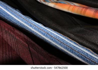 The set of samples of fashion designer
