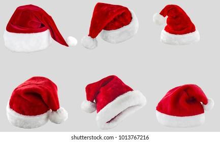 Set Santa Claus hat