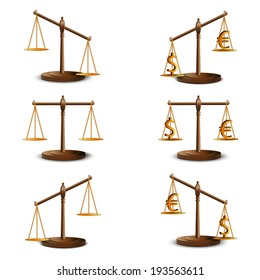 Set the scales of justice