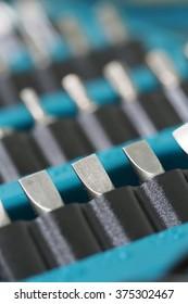 Set of screwdriver bits