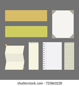 set of sheets for office work