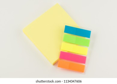 set of stickers for notes while studying and doing business