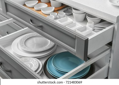 Kitchen Drawer Images Stock Photos Vectors Shutterstock