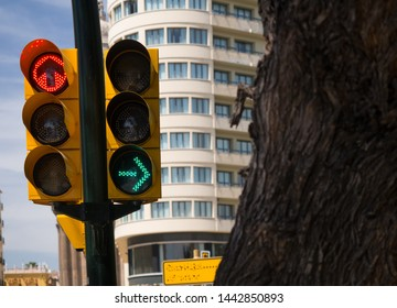 REAL STOP AHEAD WITH ARROW STREET TRAFFIC SIGN