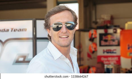 Sete Gibernau during MotoGP Motul TT Assen race in TT Circuit Assen (Assen - Netherlands) on June 30 2018