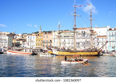 Sete, the Venice of Languedoc and the singular island