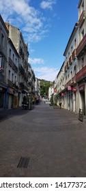 Sete,France; 5/26/2019: Streets of Sete