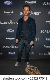 """Seth Gamble attends 19th Annual Horror Film Festival - Screamfest - """"Rabid"""" Los Angeles Premiere - Arrivals at TCL Chinese Theatre, Hollywood, CA on October 16, 2019"""