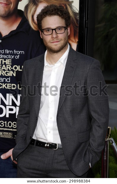 Seth Rogen at the Los Angeles premiere of 'Funny People' held at the ArcLight Cinemas in Hollywood on July 20, 2009.