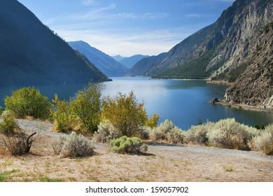Seton Lake in British Columbia, Canada