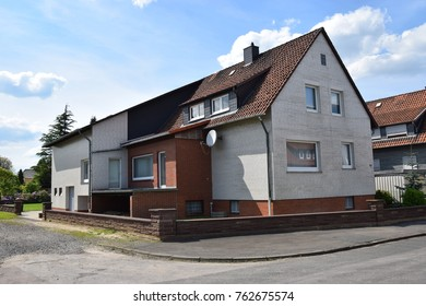 Settler's house from the 60s in Lindhorst/Germany in need of renovation