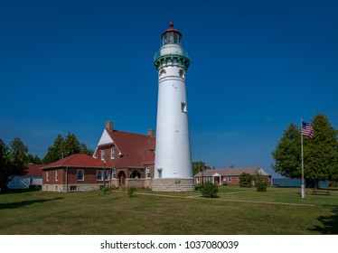 The Seul Choix Pointe Lighthouse is located in Michigan's beautiful Upper Peninsula on the shores of Lake Michigan near the town of Gulliver, MI.