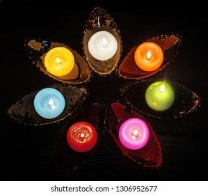 seven candles - symbology Holy Spirit - confirmation